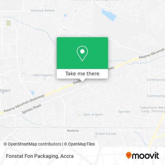 Fonstat Fon Packaging map