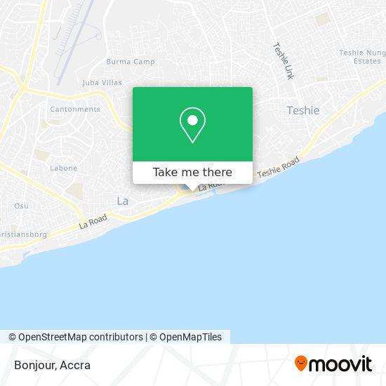 Bonjour map
