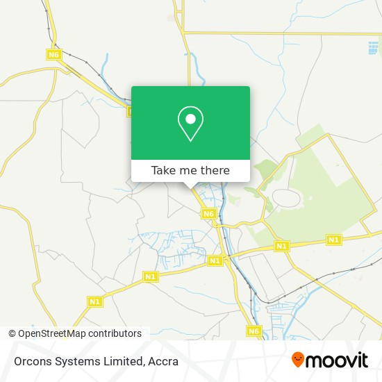 Orcons Systems Limited map