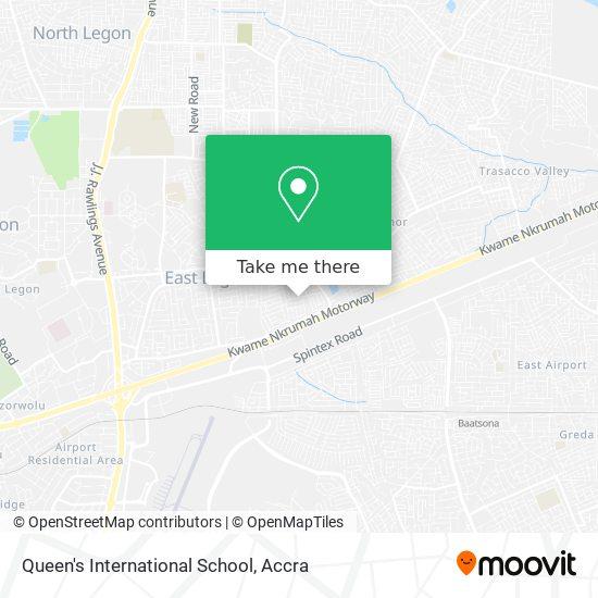 Queen's International School map