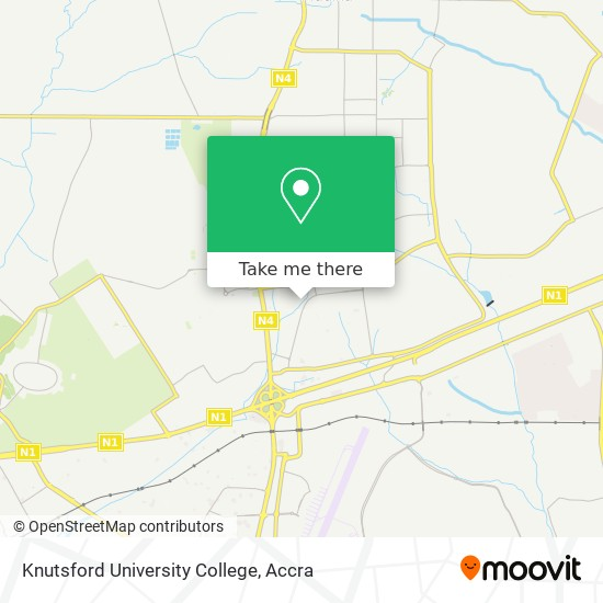 Knutsford University College map