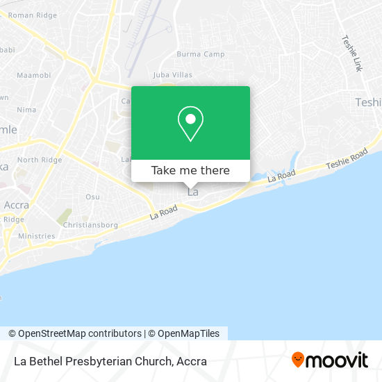 La Bethel Presbyterian Church map