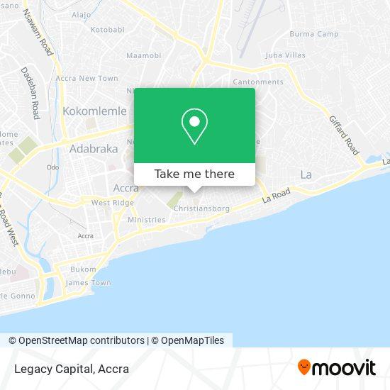 Legacy Capital map