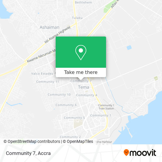 Community 7 map