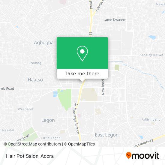 Hair Pot Salon map