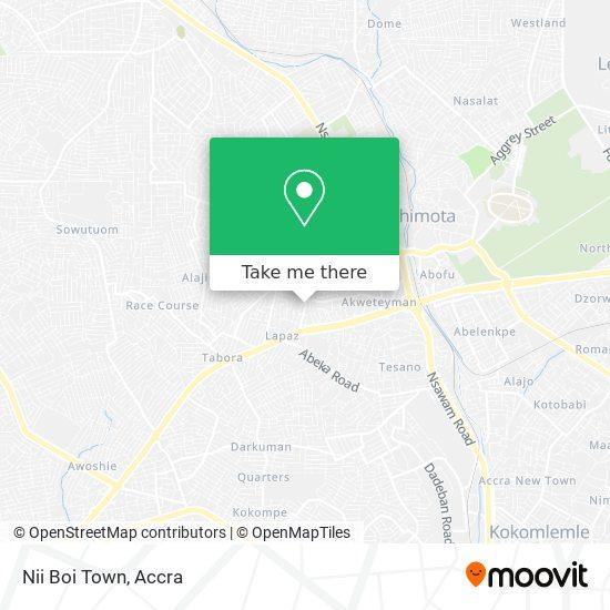 Nii Boi Town map