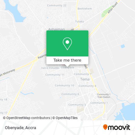 Obenyade map