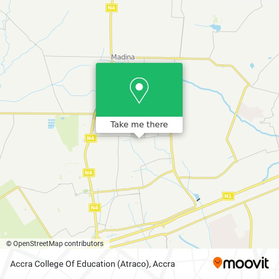 Accra College Of Education (Atraco) map