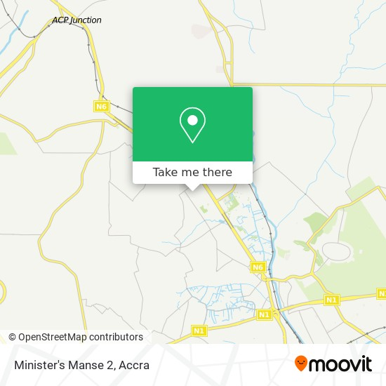 Minister's Manse 2 map