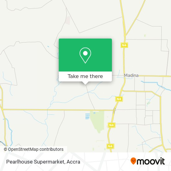 Pearlhouse Supermarket map