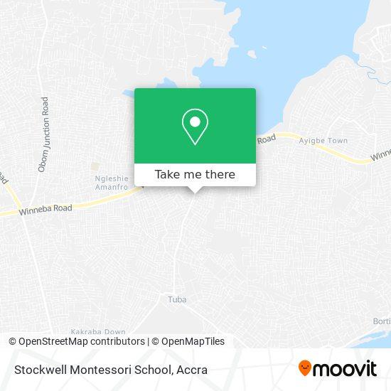 Stockwell Montessori School map