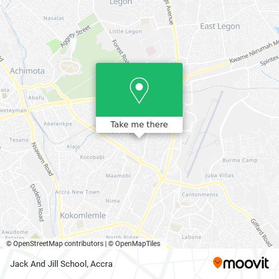Jack & Jill School map