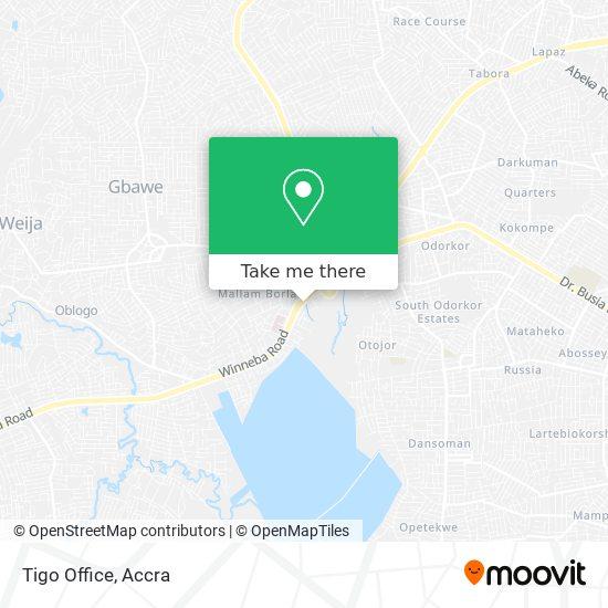 Tigo Office map