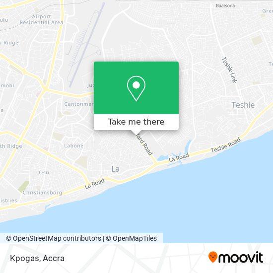 Kpogas map