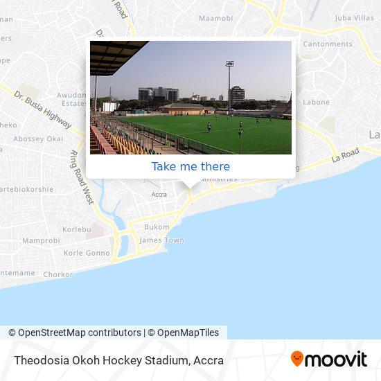 Theodosia Okoh Hockey Stadium map