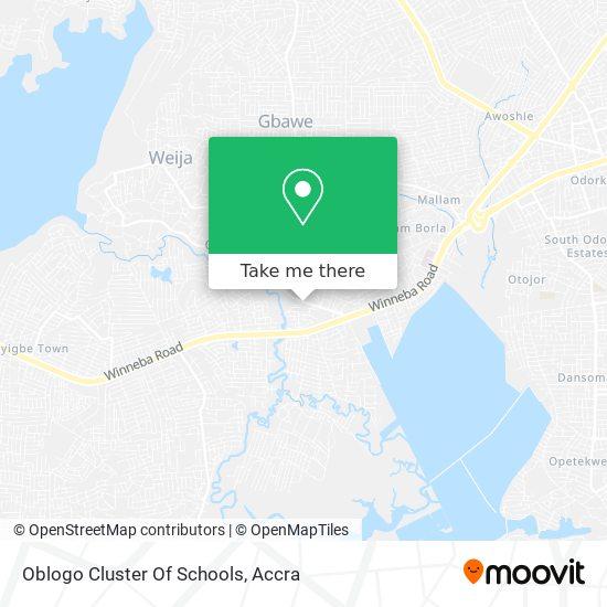 Oblogo Cluster Of Schools map