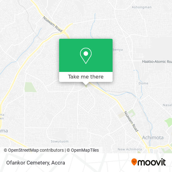 Ofankor Cemetery map