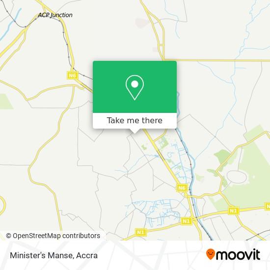 Minister's Manse map