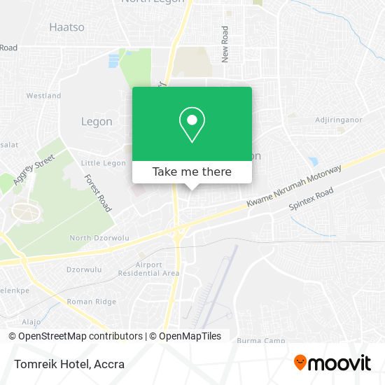 Tomreik Hotel map