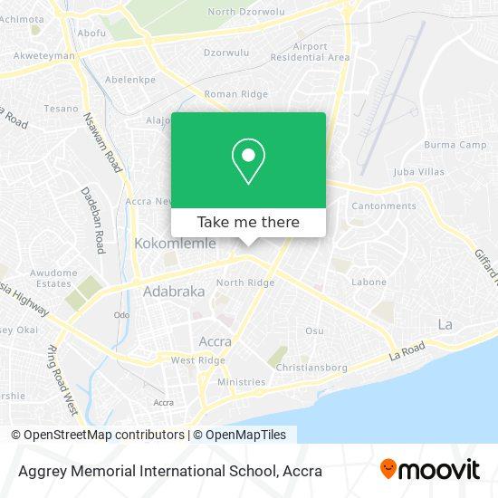 Aggrey Memorial International School map