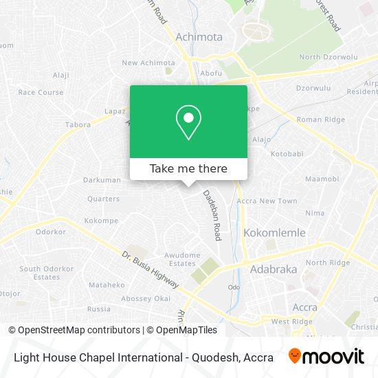 Light House Chapel International map