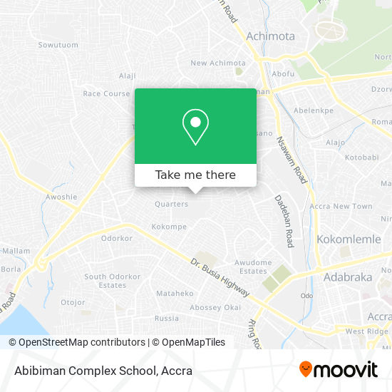 Abibiman Complex School map