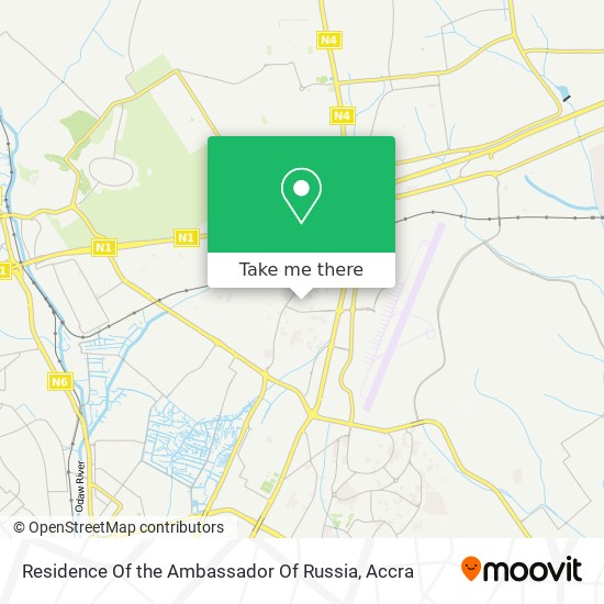 Residence Of The Ambassador Of Russia map