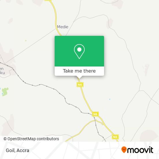Goil map
