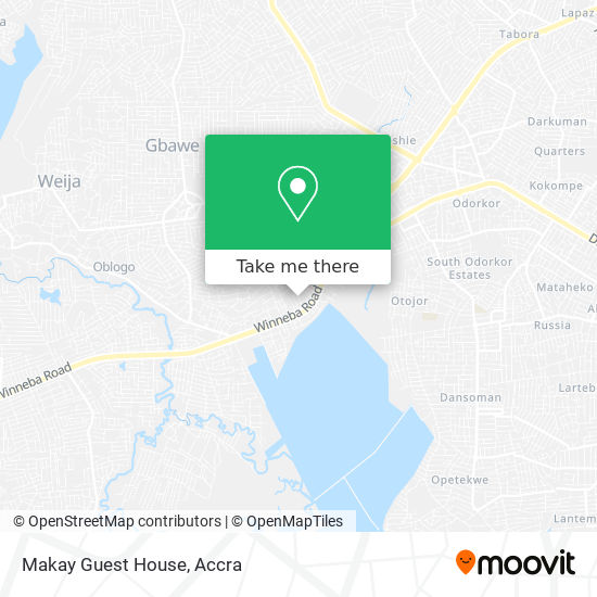 Makay Guest House map