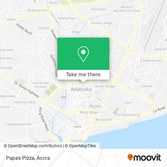 Papa's Pizza map