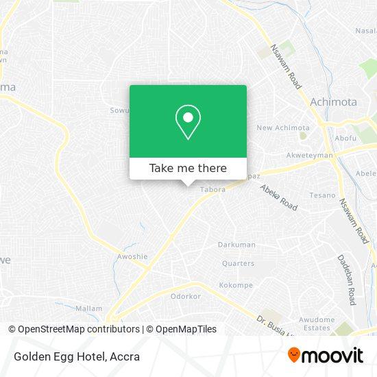 Golden Egg Hotel map