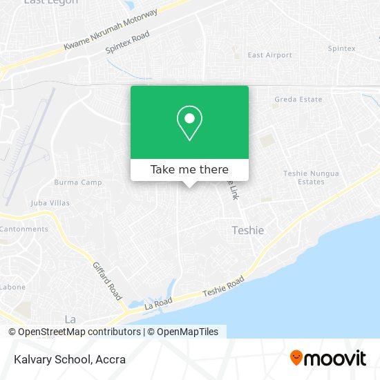 Kalvary School map