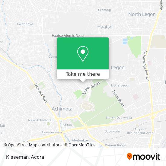 Kisseman map