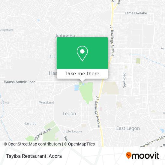 Tayiba Restaurant map