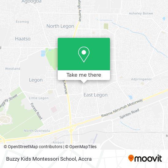 Buzzy Kids Montessori School map