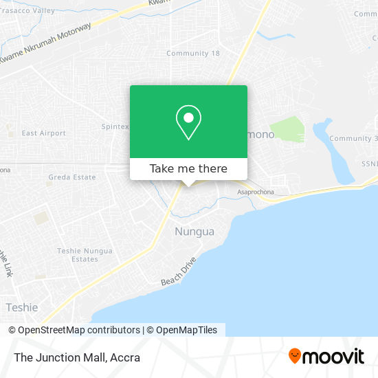 The Junction Mall map