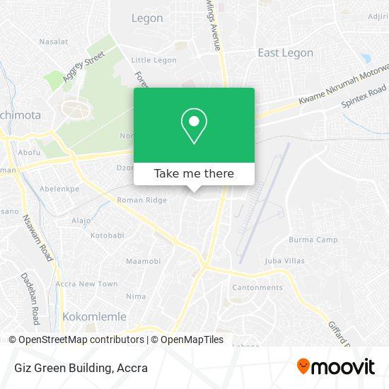 Giz Green Building map