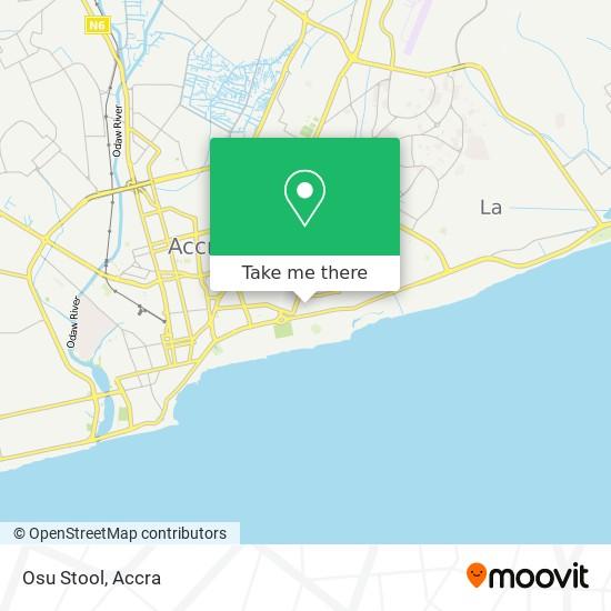 Osu Stool map
