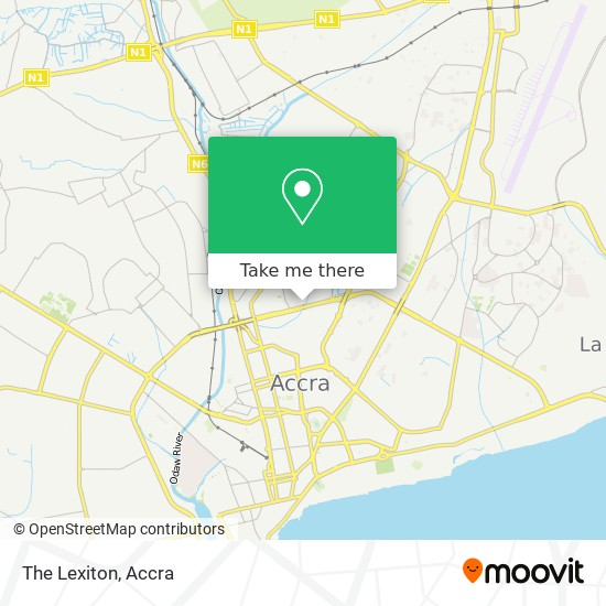 The Lexiton map