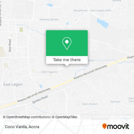 Coco Vanila map