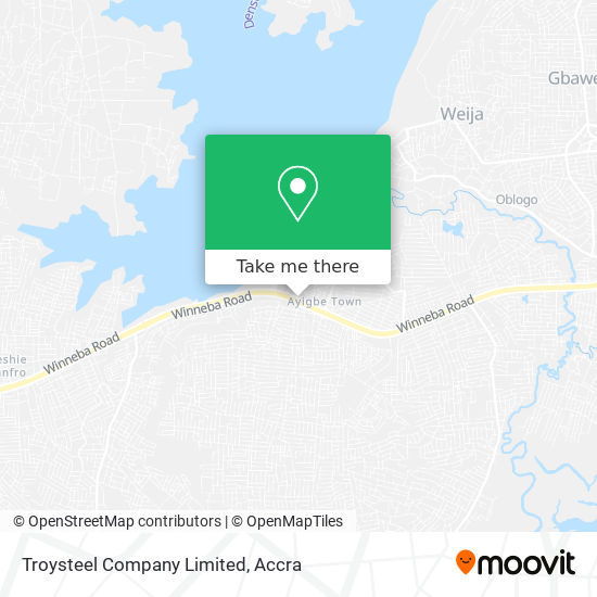 Troysteel Company Limited map