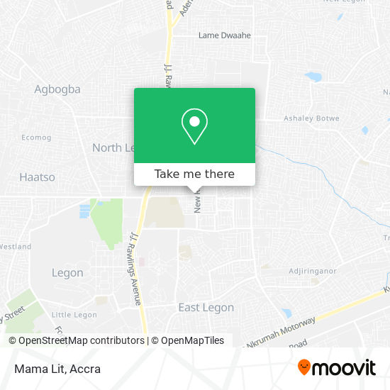 Mama Lit map