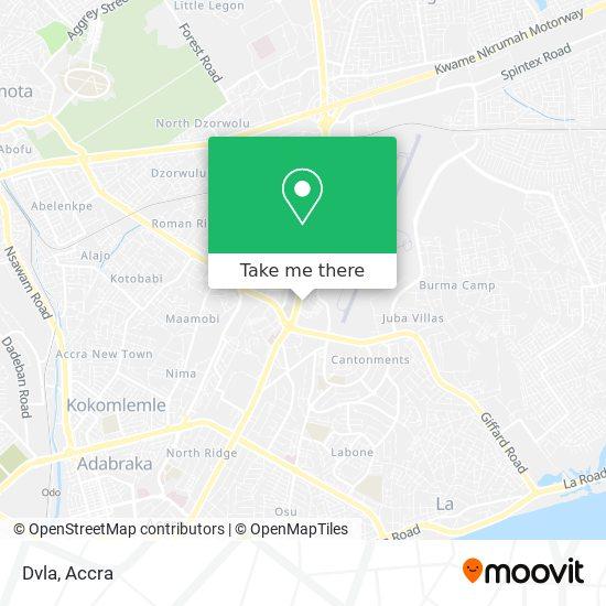 Dvla map