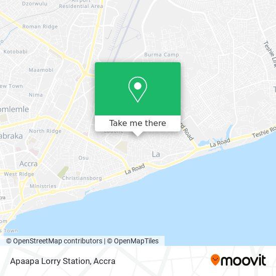 Apaapa Lorry Station map