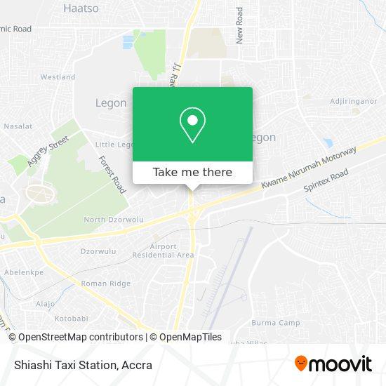 Shiashi Taxi Station map