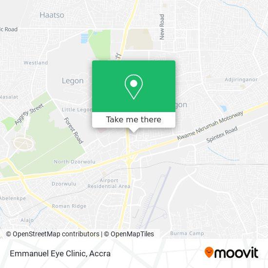 Emmanuel Eye Clinic map