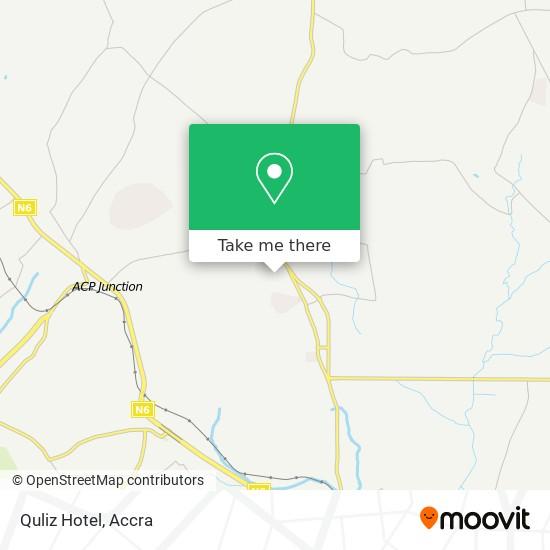 Quliz Hotel map