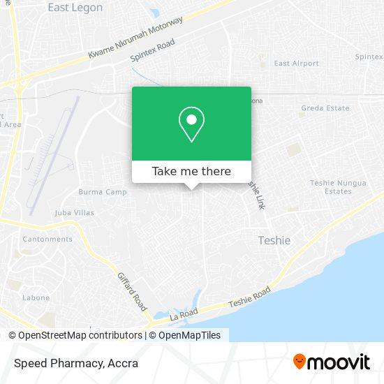 Speed Pharmacy map