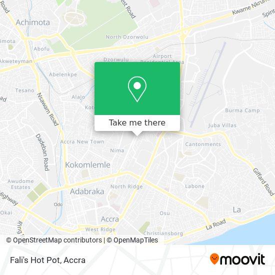 Fali's Hot Pot map