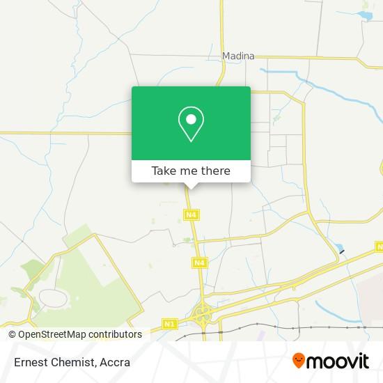 Ernest Chemist map